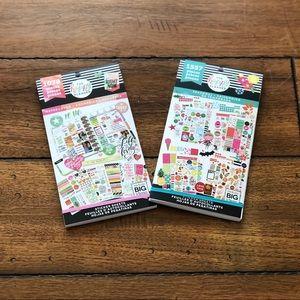 Two Happy Planner Sticker Books